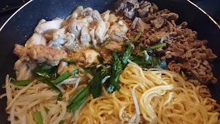 【牛・鶏ミックスプルコギ】高級な焼肉のタレで作る肉食ディナー
