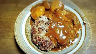 【ハンバーグ牛スジカレー】ハンバーグとスジ肉のダブルタンパク質