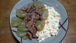 【牛赤身肉の豆腐牛丼】減量時によく作るメニュー|ダイエットにもおすすめ
