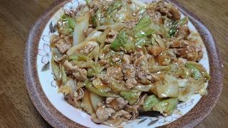 【ぶたみそキャベツとガリバタ鶏】時には既製品を流用して時短タンパク質料理