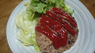 【麩入りハンバーグ】植物タンパク質でつないだヘルシーハンバーグ