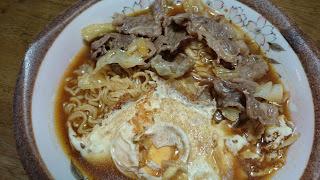 【筋トレ翌日の朝ごはん】朝からしっかりとタンパク質摂取|ノンフライ麺もご紹介
