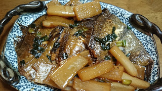【カレイの煮付け】休日には魚介類で血液と体調を整えよう|煮付けには水を入れない
