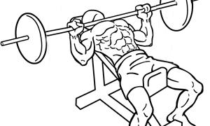 【インクラインベンチプレス】大胸筋上部に効果的なバーベル筋トレ