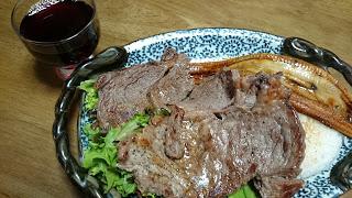 【ステーキ蒲焼きディッシュ】肉と魚を同時に食べると筋トレ効果もアップ