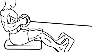 【ケーブルローイング】背筋のマシン筋トレの基本とグリップによる効果の差異を解説