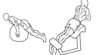 【バックエクステンション】長背筋を鍛える種目のバリエーションを解説