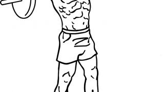 【バーベルアップライトロー】初心者におすすめの三角筋バーベル筋トレ