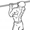 【上腕二頭筋を鍛える懸垂】長頭と短頭それぞれに効果的なバリエーション
