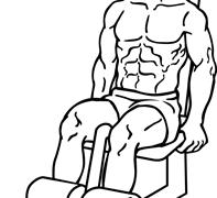 【マシンレッグエクステンション】大腿四頭筋の仕上げジム種目を解説