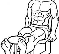 【ダンベルレッグエクステンション】大腿四頭筋のダンベル筋トレを解説