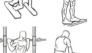 【カーフレイズ】自重・ダンベル・バーベル・マシンを使った各種のやり方