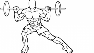 【バーベルサイドランジ】内転筋群に効果の高いトレーニング方法