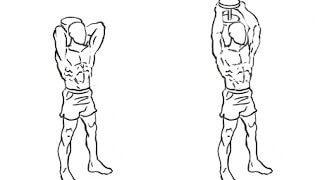 【ダンベルフレンチプレス】上腕三頭筋の仕上げに最適なダンベル筋トレのやり方