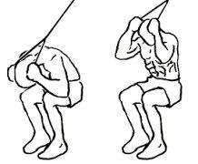 【ケーブルクランチ】腹直筋上部を効率的に鍛えるマシン筋トレ