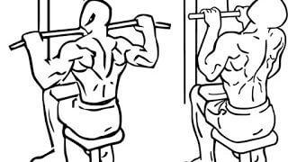 【ラットプルダウンの部位別のやり方】グリップやアタッチメントで効く筋肉が変わる