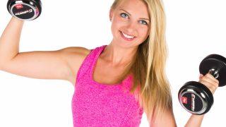 【女性の二の腕痩せダンベル筋トレ】自宅で手軽にできるトレーニング集