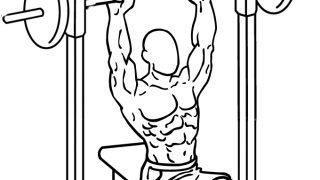 【スミスマシンショルダープレス】三角筋全体を高負荷で鍛えられる筋トレ