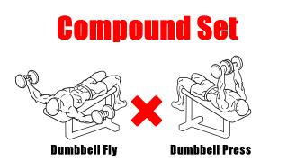 【コンパウンドセット法】トライ&ジャイアントセットの具体的な組み方も解説