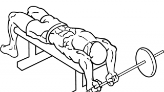 【バーベルプルオーバー】大胸筋と背筋それぞれに効かせるフォームの違いを解説