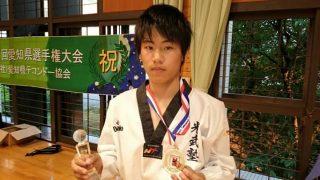 ハヤテの戦闘記録15:高2の愛知県選手権|拳撃の完成