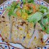 【筋トレに最適なトンカツ】麩を衣に置き換え揚げずに焼いて作るダイエットむきレシピ