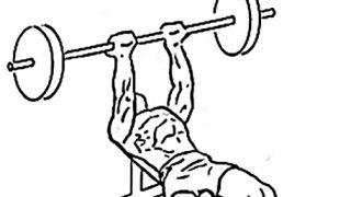 【リバースグリップベンチプレス】インクラインベンチなしで大胸筋上部を鍛える種目