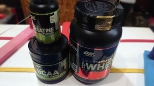 【海外筋肉サプリメント】世界最大手のオプティマム社製プロテイン・BCAA・クレアチンの試飲レポート